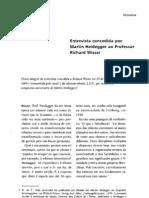 Heidegger - Entrevista a Richard Wisser