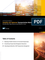Simplify and Optimize Transportation Management