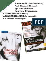 Cyber Stalking, Giovanni Ziccardi Su Comunica