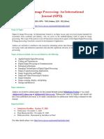 466523899 Signal Image Processing an International Journal