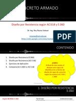 Diseño por Resistencia según ACI318 y E.060