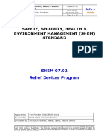 SHEM-07.02 Relief Devices Program