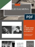 ROGELIO SALMONA-SEGUNDA EXPOSICIÓN-HISTORIA