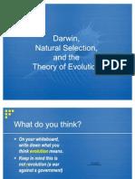 DarwinAndEvolution