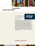 Africa's path to growth Sector by sector