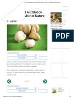 11 All-Natural Antibiotics Provided By Mother Nature – Page 3 – Health & Human Research