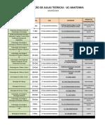 2020-2021 - Distribuição Aulas Teóricas - Módulo 1