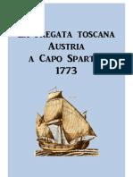 """Tuscan Frigate """"Austria"""" at Cape Spartel 1773"""