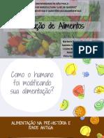 Produção de Alimentos brasileiros