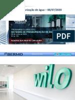 Sistema pressurização Webnario