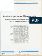Rendre la justice en Mesopotami - Joannes, Francis.epub
