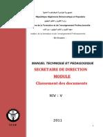 Classement DES documents