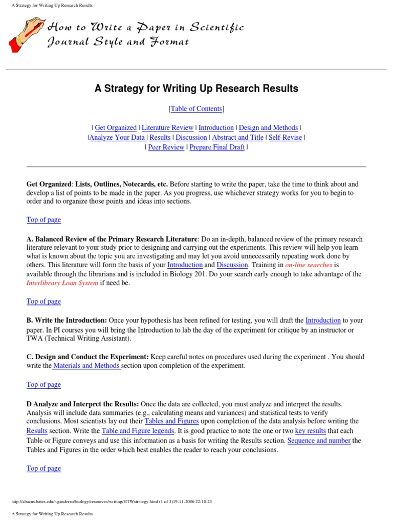 Basic organizational methods for a compare and contrast essay