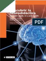 Descubrir la Neurodidáctica aprender desde, en y para la vida