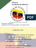 LAICOS CONCILIO PLENARIO DE VZLA..ppt