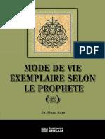 mode de vie exemplaire selon le prophete