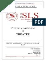 THEATER 2ND INTERNAL ASSISMENT