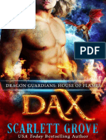 Scarlett Grove - Dragon Guardians 02 - Dax House of Flames
