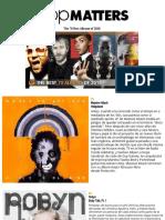 70 best albums of 2010 Popmatters