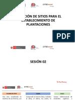 Selección de sitos para plantaciones forestales