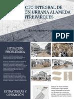 PROYECTO INTEGRAL DE RENOVACIÓN URBANA ALAMEDA ENTREPARQUES 1.OBJETIVOS ESPECÍFICOS DE LA FORMULACIÓN