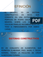 Sistemas Drywall