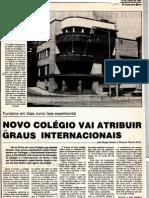 Novo Colegio Vai Atribuir Graus - Artur Victoria Entrevista Sobre o CLIP Colegio Luso Internacional Do Porto