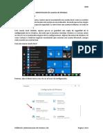8.- Crear usuarios en Windows