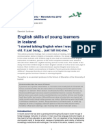 English skills of young learners021