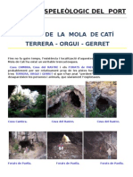 COVES DE LA MOLA DE CATÍ