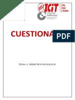 TEMA 4 CUESTIONARIO- DERECHOS HUMANOS