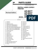 AR-M237_277 Parts