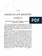 The Adoption of the Common Law by the American Colonies.pdf