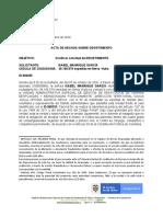 CLARIFICACIÓN DE DESISTIMIENTO 865333 ISABEL MANRIQUE GARCÍA