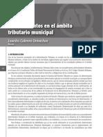 Procedimientos en el ámbito tributario municipal