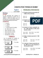 Matematic3 Sem 28 Guia de Estudio Interes Simple II Ccesa007