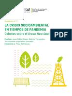La crisis socioambiental en tiempos de pandemia. Debates sobre el Green New Deal