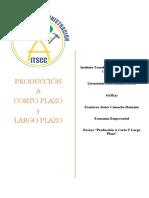 Producción a Corto y Largo Plazo
