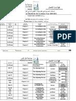 Teaching Hours plan ACCT101 Accounting 1