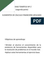 T02_ELEMENTOS DE CALCULO FINANCIERO APLICADO SEGUNDA PARTE
