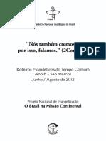 Ano B 4 Tempo Comum (Trindade Em Diante) 2012