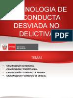 Diapositivas Criminología - menor infractor