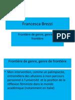 Brezzi Frontière de genre genre de frontière.p pt