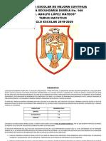 PROGRAMA  DE MEJORA CONTINUA  ejemplo secundaria