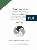 The Science of Zhineng Qigong Life More Abundant Based on Teachings of Ming Pang