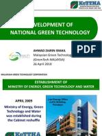 Green Tech. KeTTHA