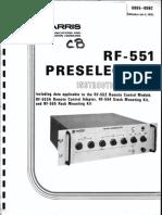 RF-551_PRESELECTOR