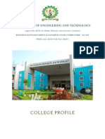 RVS CET COLLEGE PROFILE