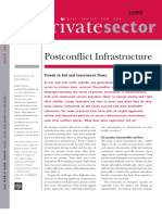 Post-conflict infrastructuretrends