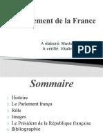 Le Parlement de la France Musteata Adriana.pptx